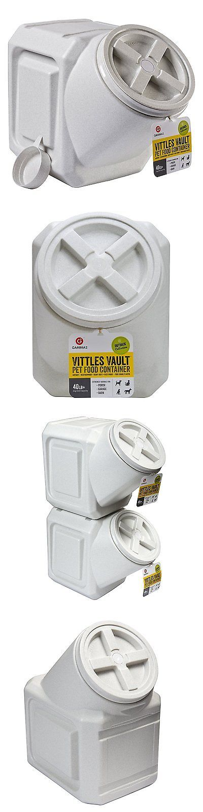 Dishes Feeders and Fountains 177789: Outback Stackable 40 Lb Airtight Seal Pet Food Storage Container Keeps Fresh New -> BUY IT NOW ONLY: $30.35 on eBay!