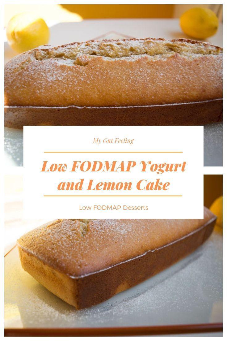 Low FODMAp Joghurt und Zitronenkuchen   – Other Pinner's Low FODMAP Recipes We Love