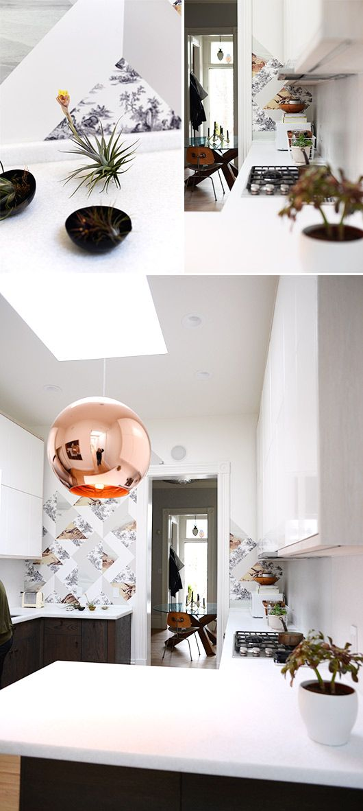 """SUZANNE-SHADE-KITCHEN-REMODEL // rose gold. Calling it now. Next """"It"""" metal."""