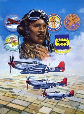 99th Fighter Squadron Tuskegee Airmen Patch US Army Air Corps P51 P47 ...
