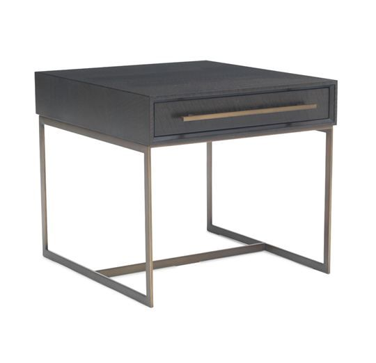 Best Window Shopping For Side Tables Images On Pinterest Side - Black and brass side table