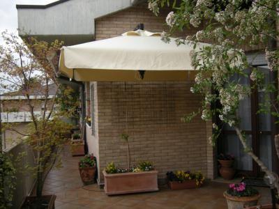 Зонт уличный, Murales, OFV, слоновая кость
