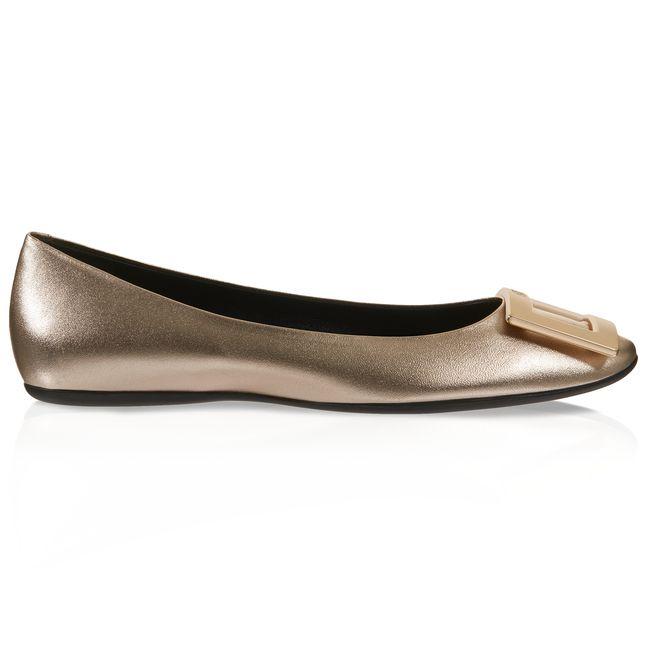 Ballet Flats Ballerina Shoes for Women On Sale, Blue, Canvas, 2017, 4.5 Marc Jacobs