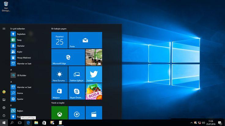 Windows 10 Yıl Dönümü Güncellemesi (Sürüm 1607) 2 Ağustos'ta Yayınlanıyor! Windows 10