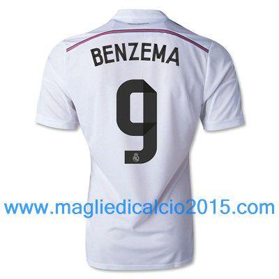 Real Madrid magliette da calcio 2014/2015 Benzema 9-Local