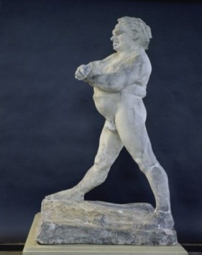 Nude Study of Balzac , (Etude se nu pour Balzac), 1893 Auguste Rodin (1840-1917/French), Muse Rodin, Paris Poster Print (24 x 36)