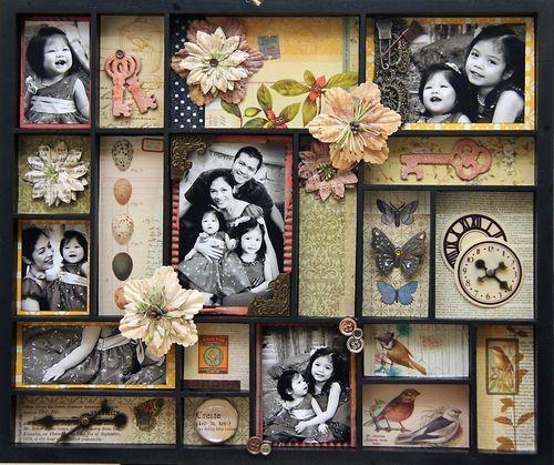 7 Gypsies tray. Great idea for family photos.