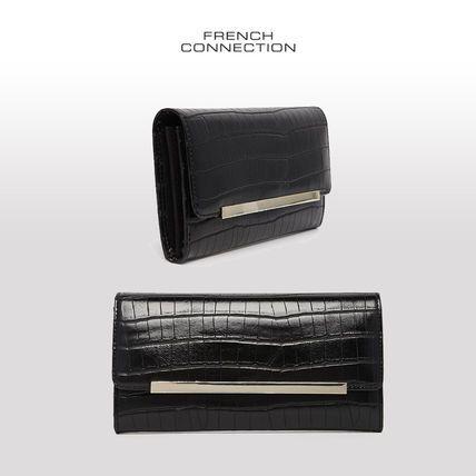 フレンチコネクション クロコダイル柄の長財布