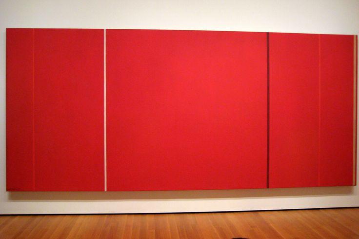 Barnett Newman, Vir Heroicus Sublimis, 1950-51, värikenttä maalaus, 'zip', abstrakti ekspressionismi