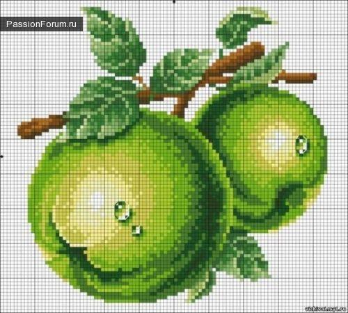 Вышивка крестом. Овощи-фркуты-ягоды. Обсуждение на LiveInternet - Российский Сервис Онлайн-Дневников