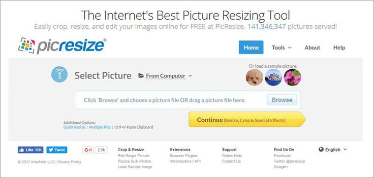 30 Tools to Crop and Resize Your Images Online Without Photoshop