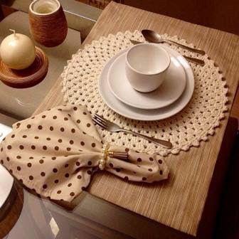 10 Ideas para Hacer Individuales de Mesa Tejidos a Crochet
