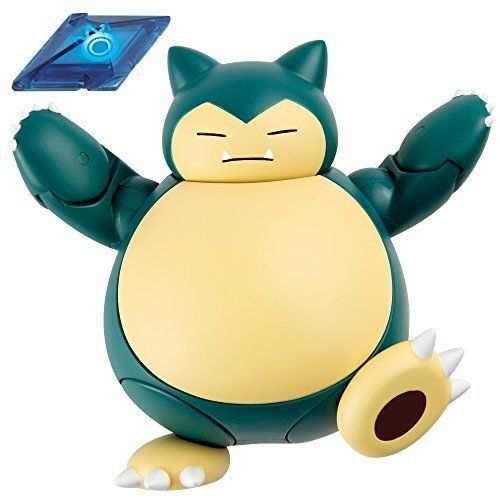 Pokemon Snorlax Monste Action Figurer Rare Collection Battle Kids Fun Toy New #TOMY