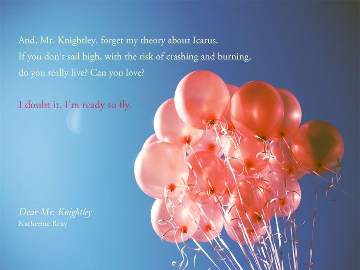 #DearMrKnightley #ImReadyToFly:
