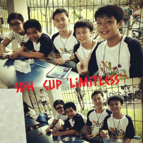 Max and friends in SDH Cup