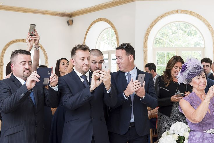 Unplugged weddings - should you have one? Part 2 of this Blog post questions whether a couple should ask guests to put away their phones and cameras during the wedding?  https://www.ianh.co.uk/blog/unplugged-weddings/