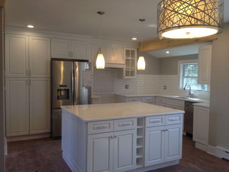 Best My Kitchen So Far Forevermark White Shaker Cabinets 400 x 300