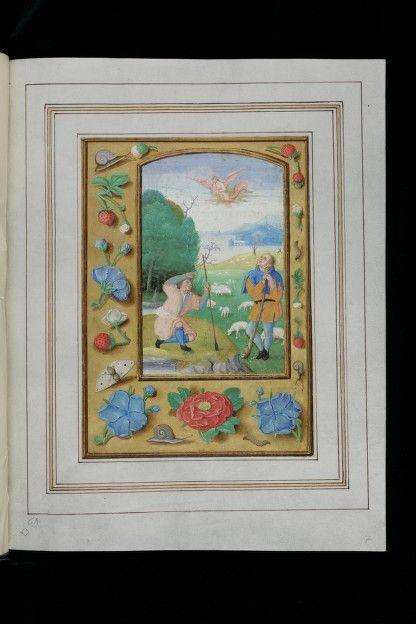 Pays de conservation:Suisse Lieu:Trogen Bibliothèque / Collection:Kantonsbibliothek Appenzell Ausserrhoden Cote:CM Ms. 9 Résumé du manuscrit:Livre de prières d'Anne de Clèves