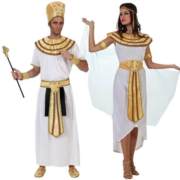 Pareja Disfraces de Reyes del Nilo #parejas #disfraces #carnaval