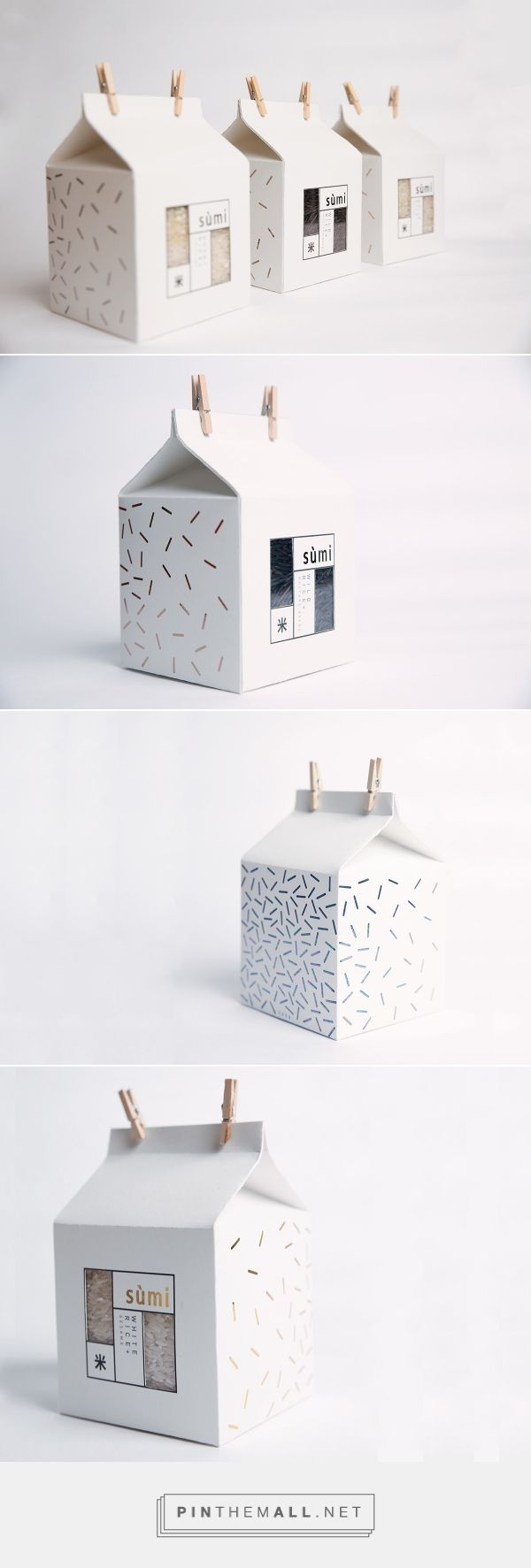 Sùmi Rice Packaging on Behance... - a grouped images picture - Pin Them All                                                                                                                                                                                 More