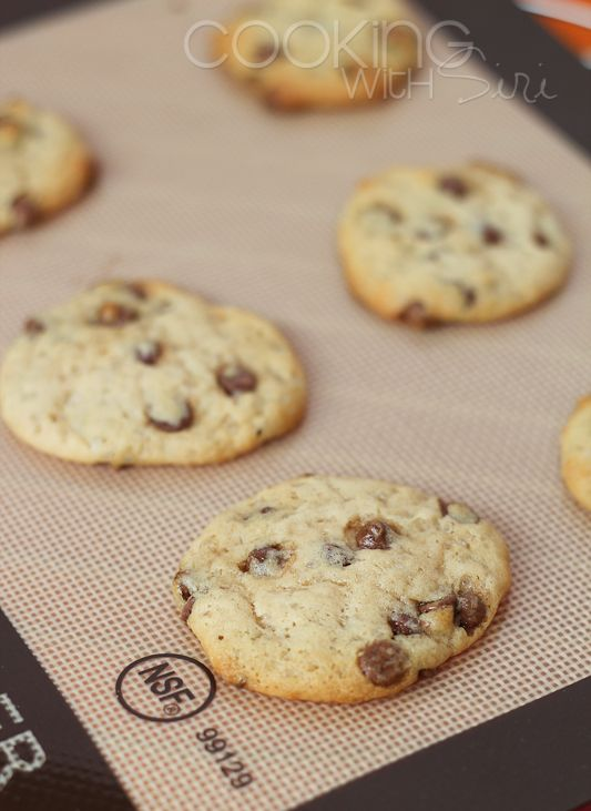 ... Recipe} Best Skinny Chocolate Chip Cookies with Step by Step pictures