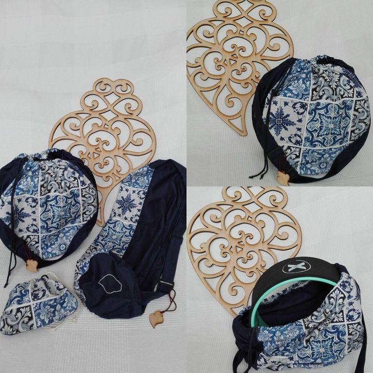 Yoga bag for yoga mat and yoga wheel. #handmade #withlove