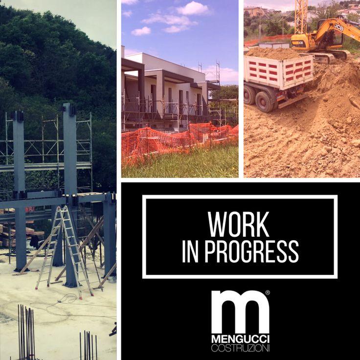 I lavori nei nostri cantieri continuano senza sosta.... #workinprogress #menguccicostruzioni
