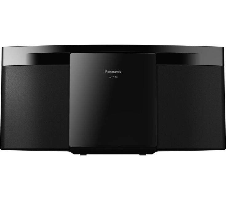 PANASONIC  SC-HC297EB-K Wireless Flat Panel Hi-Fi System - USB Connector Price: £ 99.99 Featuring Bluetooth with NFC for easy music streaming, the Panasonic SC-HC297EB-K Wireless Flat Panel Hi-Fi System with USB Connector also lets you enjoy CDs and music from a USB stick - plus you can tune in to a wide range of FM and DAB+ radio services. Built-in wireless technology You can stream music in...