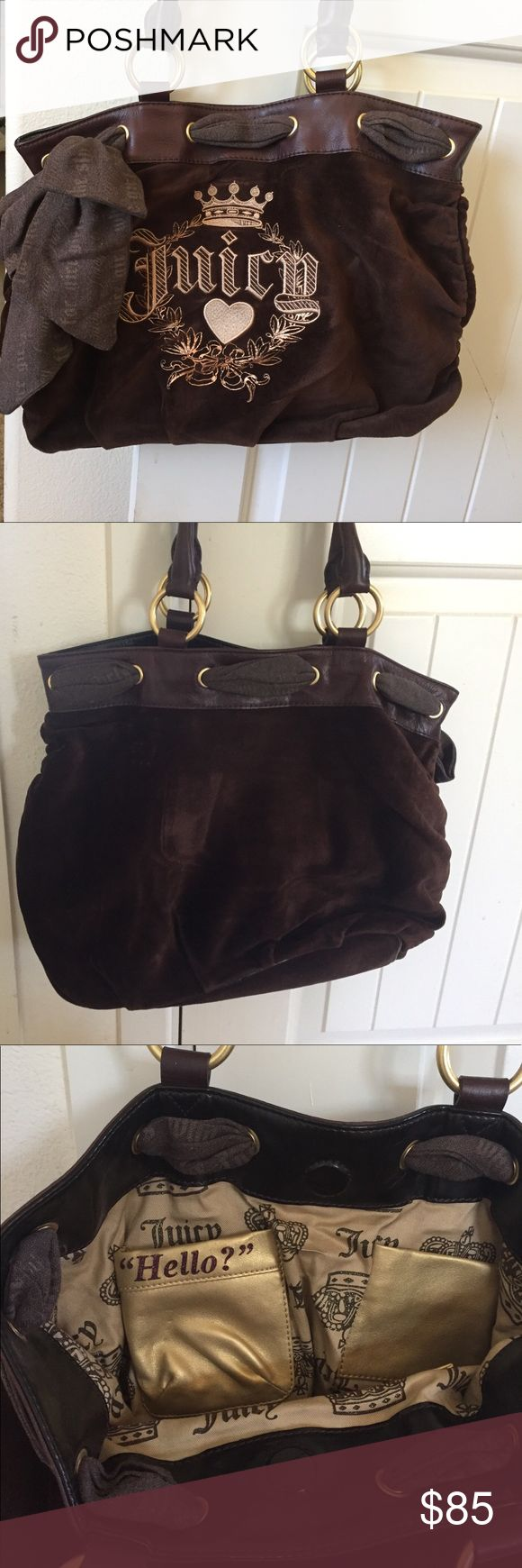 Juicy couture purse! Beautiful Juicy bag! Only used it once! Perfect condition. Juicy Couture Bags Shoulder Bags