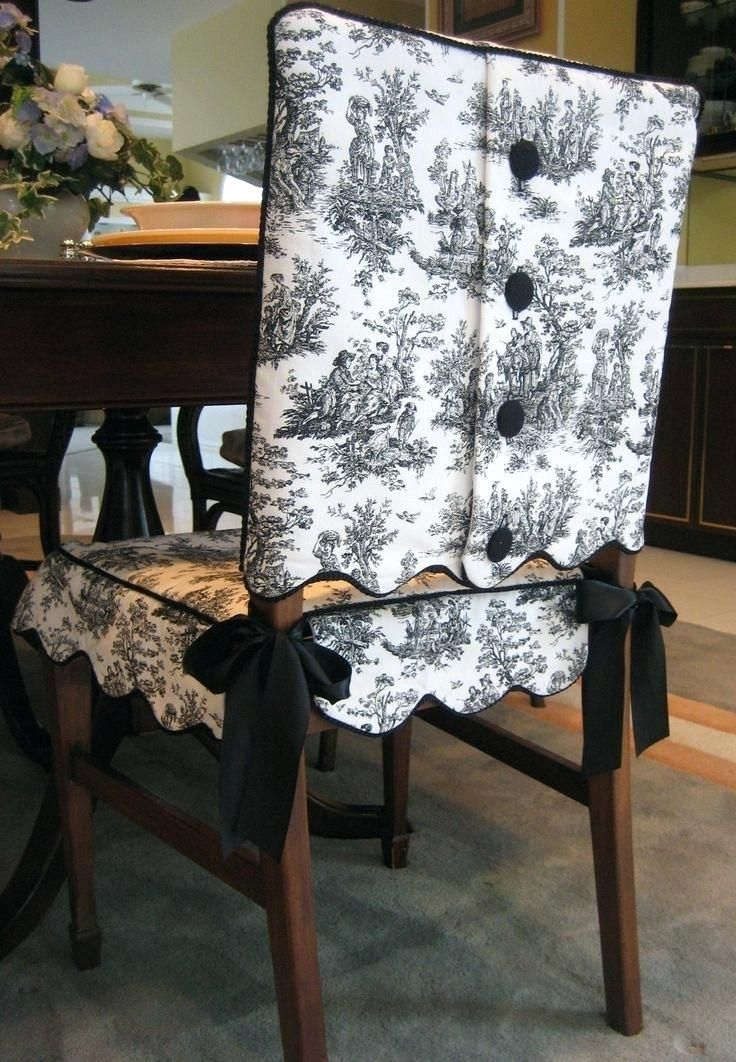 Dining Chair Slipcover Pattern Incredible Room Slipcovers Decorative How To Make Covers Designs