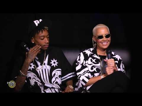 Wiz Khalifa & Amber Rose talk Miley Cyrus & Amber's Twerk Video | G.o.T.h.A.z.E.- The South's #1 Hip Hop Urban Media Source