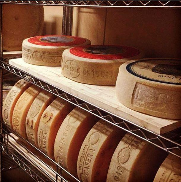 Valtellina cheeses Bitto, Casera, Latteria....