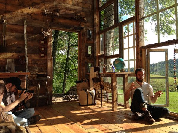 Cabin Built for $500 with Repurposed Windows - Modern Home Interior Design