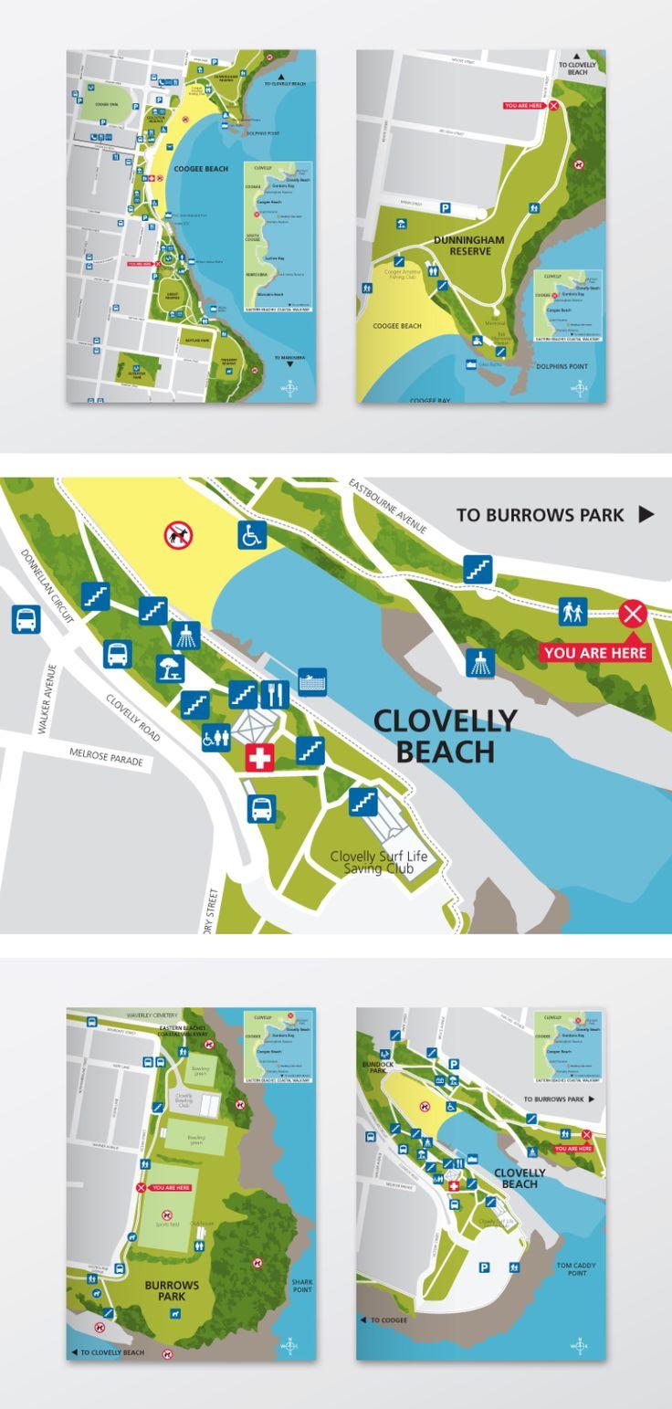 Randwick Council beach maps