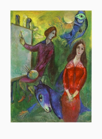 222 best images about art: russian on Pinterest | A lady ... Chagall Model