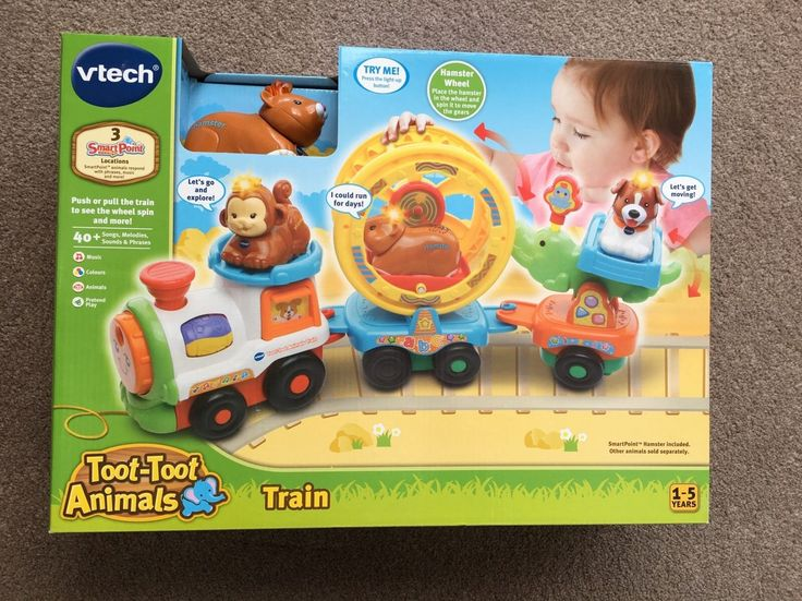 Brand new in box - Vtech Toot Toot Animals Train Including SmartPoint Hamster   eBay