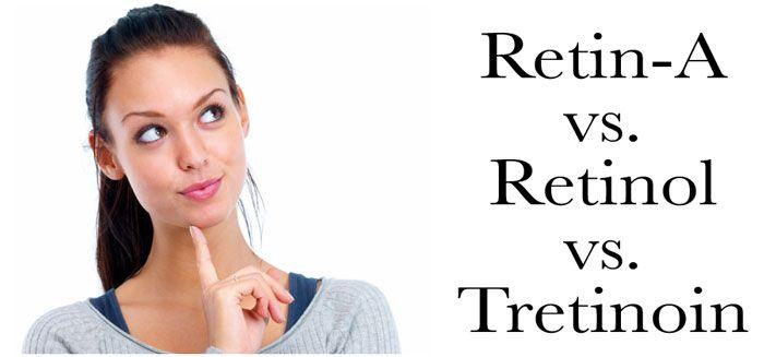 Retin-A vs. Retinol vs. Tretinoin