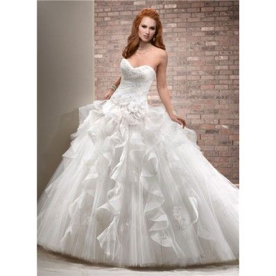 1000 Ideas About Puffy Wedding Dresses On Pinterest