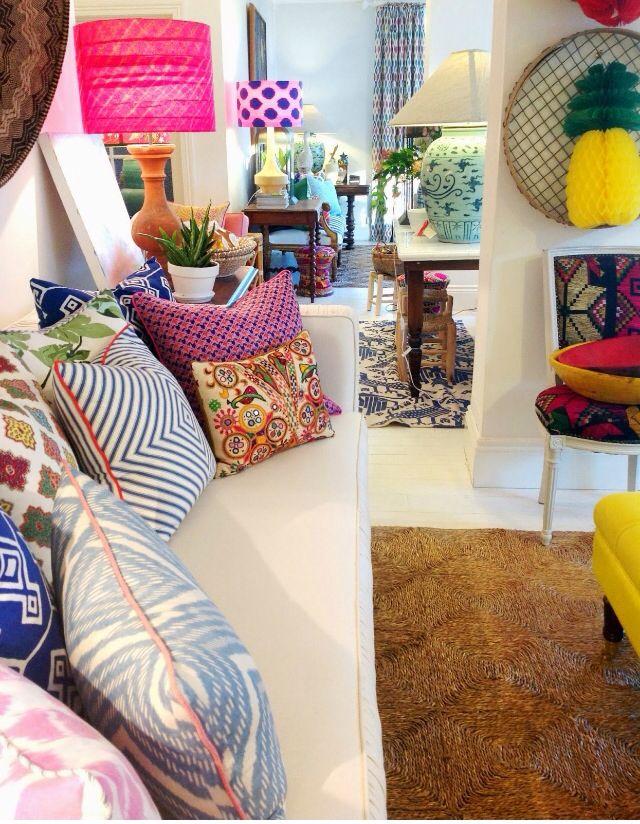 Seagrass matting rug | Anna Spiro Interior
