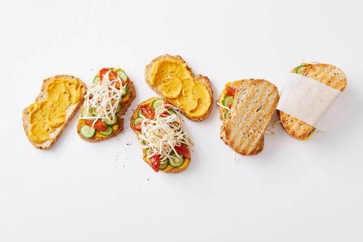 Rijkbelegde sandwich voor sportieve types - Recept - Allerhande