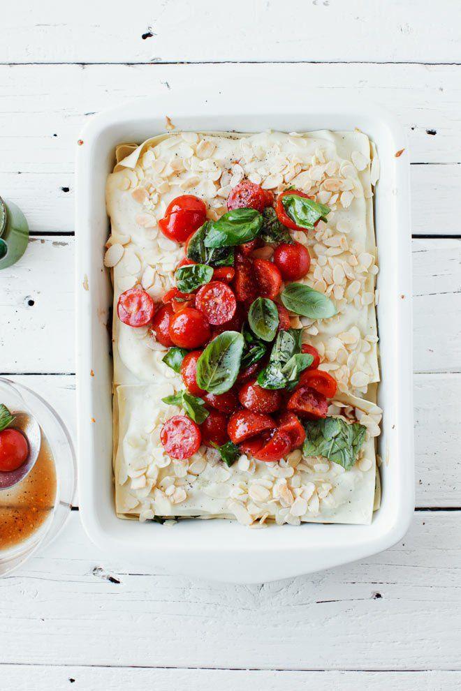 Lasagne z kurczakiem i szpinakiem