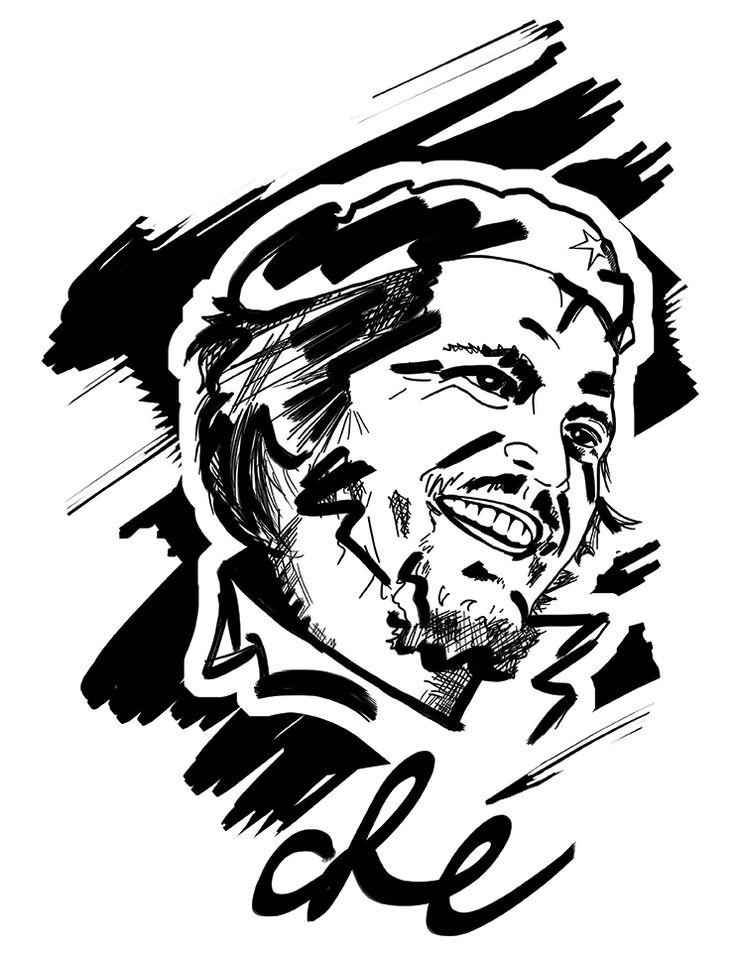 Daniel Gonzalez Carballo - Dibujo del Che Guevara : http://www.maslindo.com