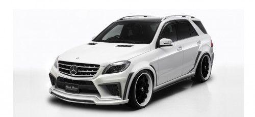 Volle Breitseite: Performance-Kit für die Mercedes-M-Klasse (W166)