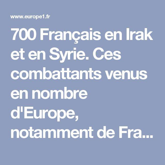 """700 Français en Irak et en Syrie. Ces combattants venus en nombre d'Europe, notamment de France, """"se sont livrés à des exactions, ont amené leur famille, parfois de très jeunes enfants"""", a relevé François Hollande.Environ 700 Français se trouvent actuellement en Irak et en Syrie aux côtés du groupe djihadiste Etat islamique (EI) notamment à Mossoul, que les forces irakiennes essaient de reconquérir, et à Raqa (Syrie), selon les autorités françaises.""""Si ces combattants étrangers, en…"""