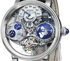 """Bovet Récital 18 Shooting Star Watch - on aBlogtoWatch.com """"Not to be overshadowed by the watches being released by brands presenting at SIHH 2016, Bovet has released a visually impressive piece of their own. The Bovet Récital 18 Shooting Star watch is a magnificent piece of horology that is limited to only 50 pieces. Bovet releases several very high-end watches every year, and if this is is a sign of things to come for 2016, then we're looking forward to the year ahead from Bovet..."""""""