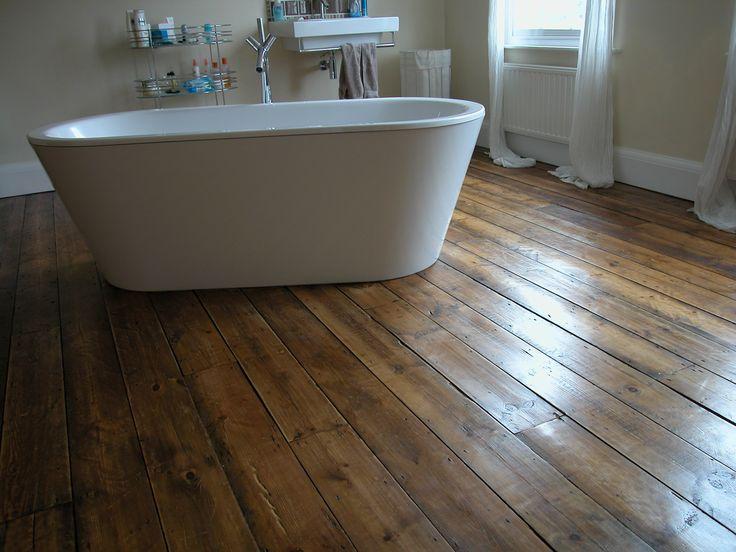 Wooden flooring, Original Face, Antique Pine Floorboards