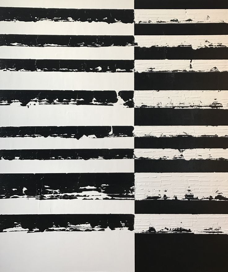 Handmade original contemporary abstract acrylic painting on canvas. Black and white, multi layered, textured, modern painting. 130 H x 110 W x 2 cm Ready to hang. Painted to the edges, frame is not required.