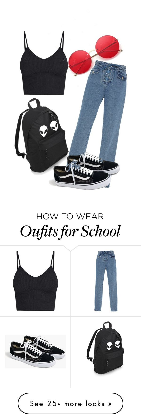 """""""High school dropout"""" by aubriebarnett12 on Polyvore featuring J.Crew"""