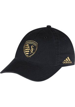 CLEARANCE | Adidas Sporting Kansas City Gold Foil Slouch Adjustable Hat