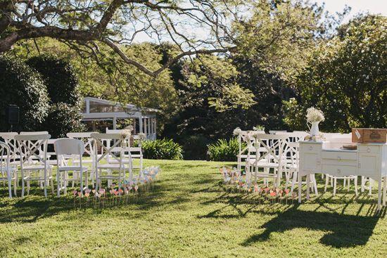 Edward and Emma's Vintage Chic Inspired Hinterland Queensland Wedding Photographer: Todd Hunter McGaw #WeddingStyling